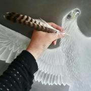 Écrivain belge Isabelle Nell - Sous le signe de l'aigle blanc