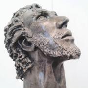 Sculpture en bronze liberte artiste isabelle nell 1